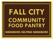 Help organize and distribute food.